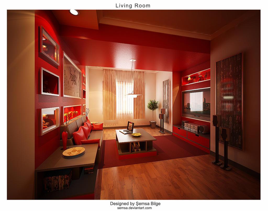 Living Room V1 by Semsa