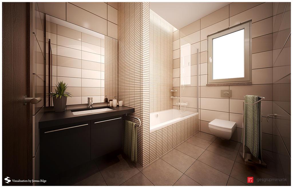 B.T.-Bathroom 1-1 by Semsa