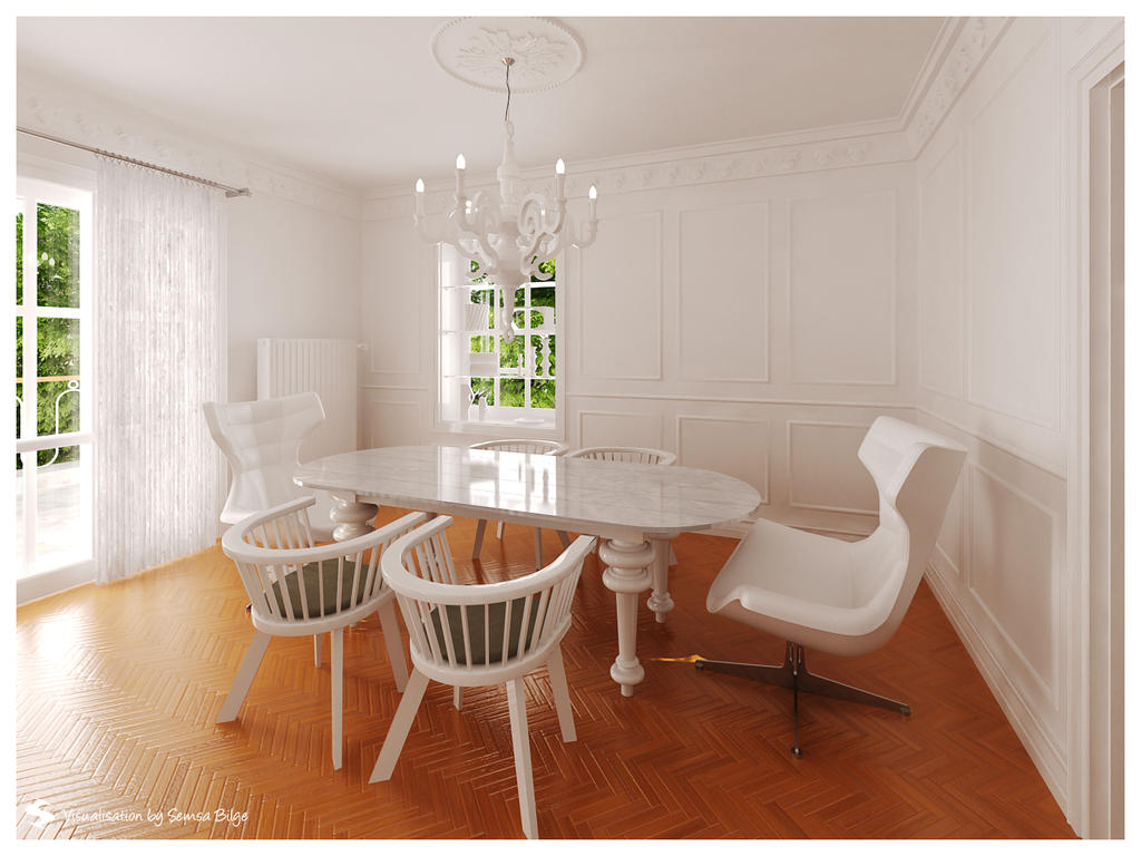 B.K. - Dining Room by Semsa
