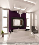 Purple-White Bathroom 3