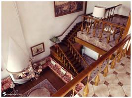 Istanbul Palace Interior 5 by Semsa