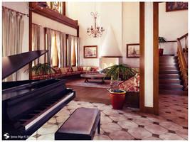 Istanbul Palace Interior 3 by Semsa