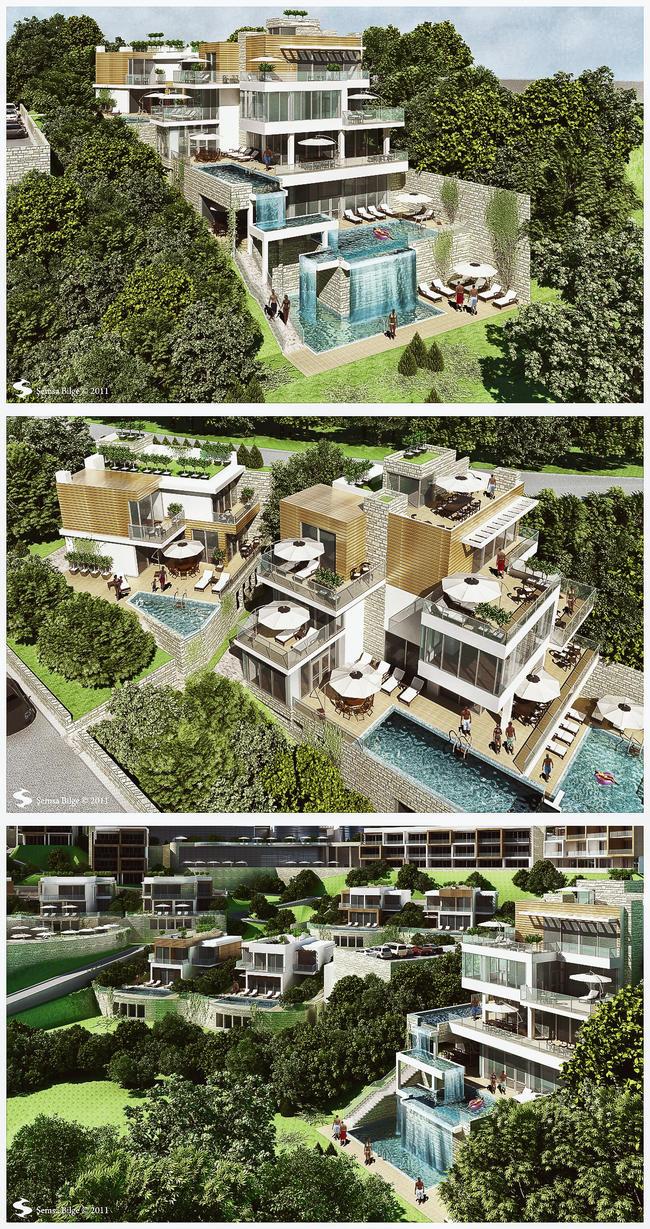 Bodrum H.Y. Otel Houses I by Semsa