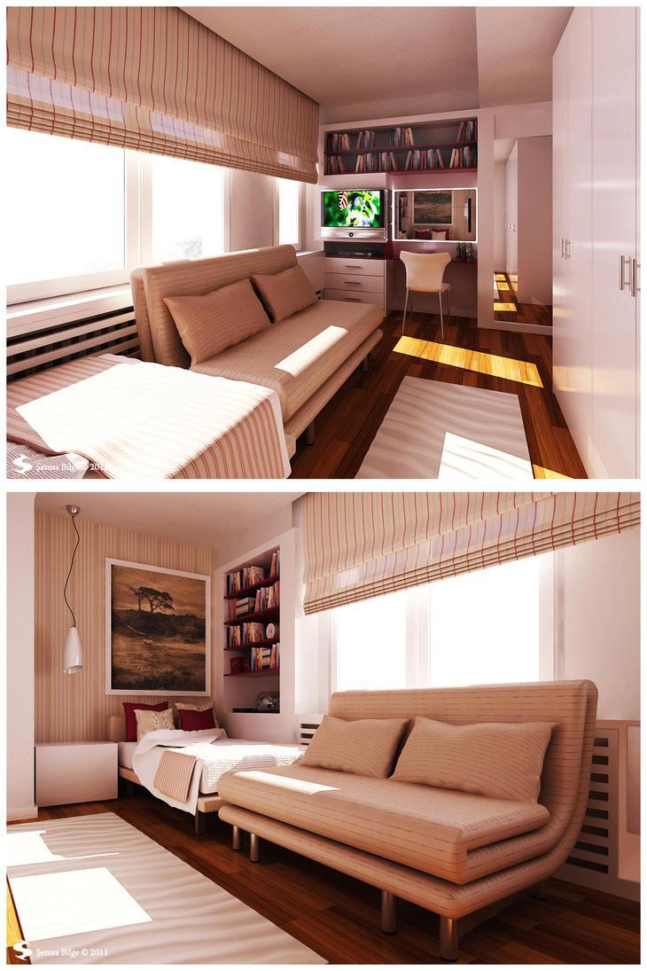 Istanbul H.-Teenage Bedroom 2 by Semsa