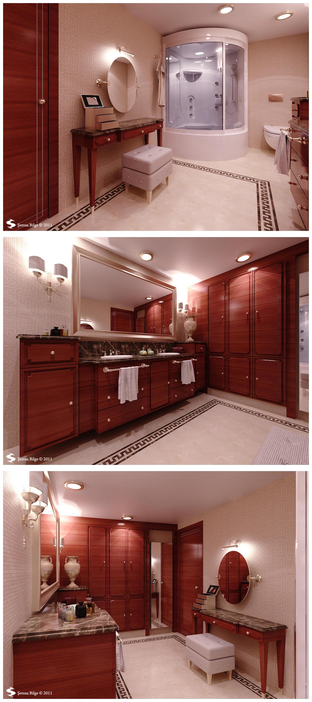 Istanbul H. - Master Bathroom by Semsa