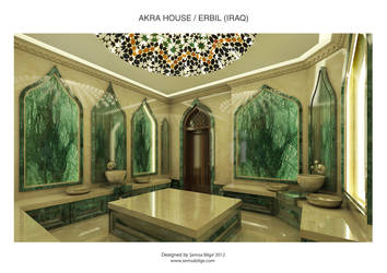 Akra House - Turkish Bath (Hamam) 2 by Semsa