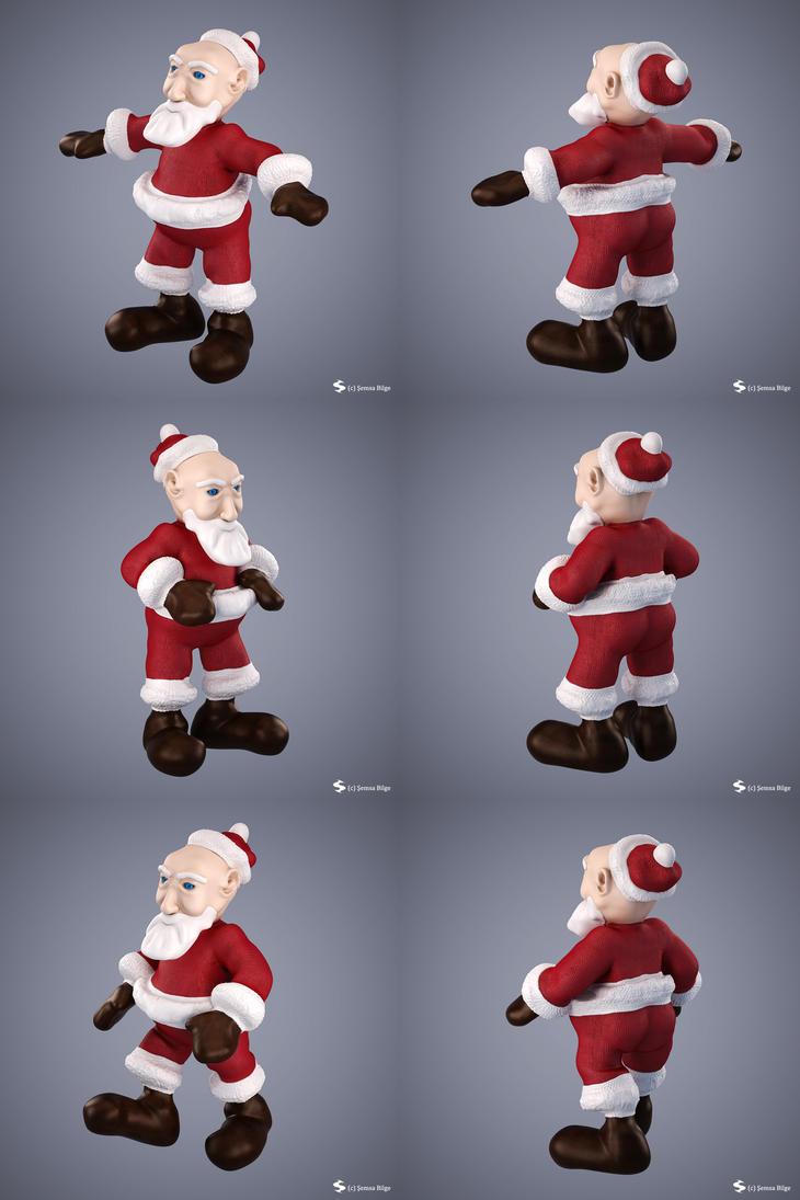 Santa (Cartoon Character) by Semsa