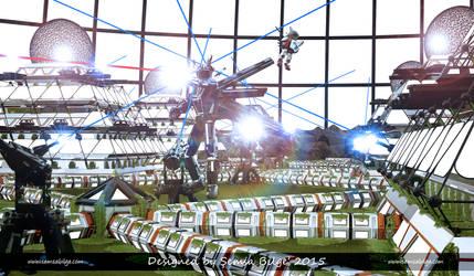Sci-Fi City 002 by Semsa
