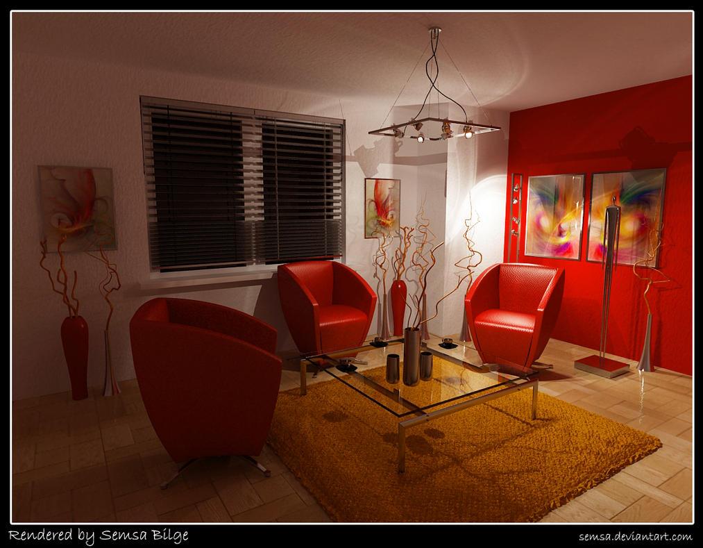 Brilliant Living Room Night by Semsa 1012 x 789 · 173 kB · jpeg