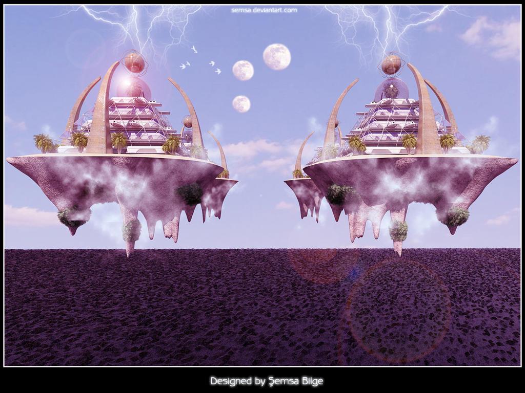 Magic Ra-Mu City by Semsa