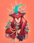 King Sidon [Red bg]