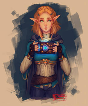 Princess Zelda [BotW Sequel] 3/4
