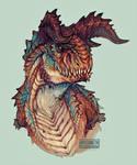Hypo Carnotaurus doodle