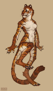 Bengal Tigress Design [COMMISSION]