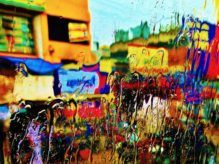 Rain Through Glass by SwapzYume