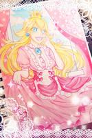 Princess Peach by ghostlatte
