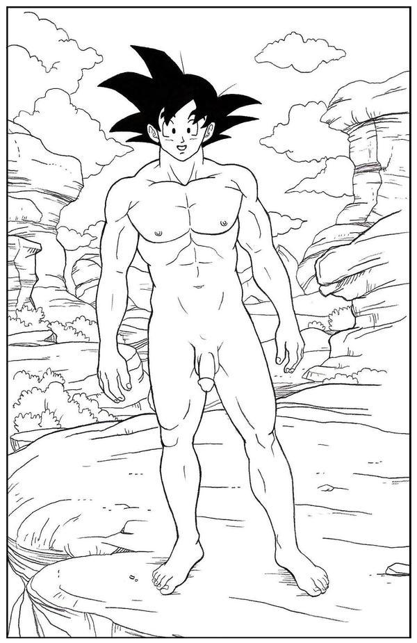 dragon ball z guys naked