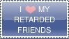 Friends Stamp by oopsy--daisy