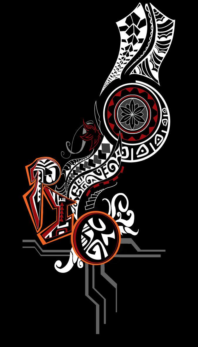 tribal t shirt design front by no elani on deviantart