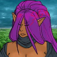 Day 1: Lak'shmi colored by talentualEmbrace