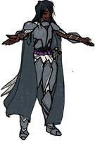 Knight(ess) color by talentualEmbrace