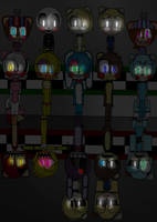 five nights at Freddy's 2 by Camillafox