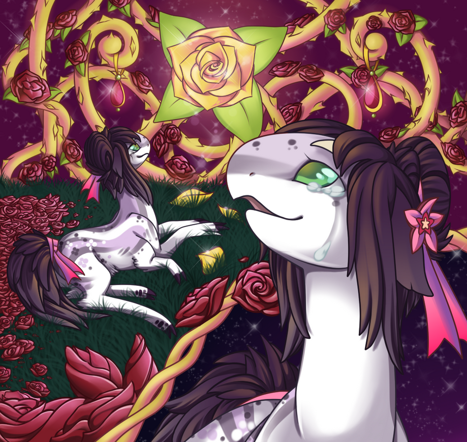 The Rose  -  Final DTA entry by Crystal-Comb