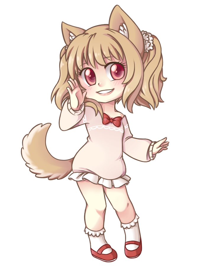 Art Trade  -  Chibi-Chii by Crystal-Comb