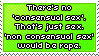 Stamp_Consensual sex is just normal sex by Chivi-chivikStampity