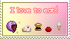 Stamp_I love to eat
