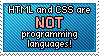 Stamp_NOT programming languages by Chivi-chivikStampity