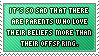 Stamp_Kids over beliefs, parents by Chivi-chivikStampity