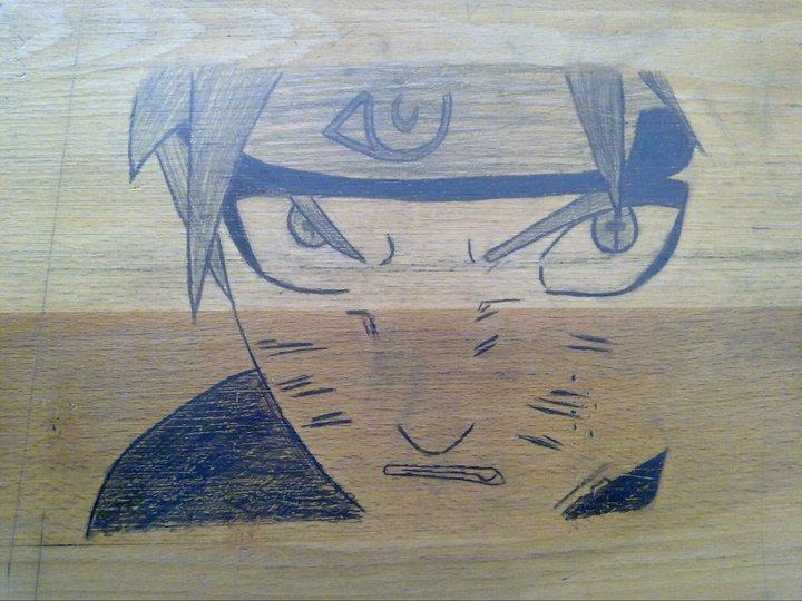 Naruto Drawing On My School Desk :) By Helltemplar ...