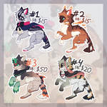 ADOPTS 4 PACK [OPEN]