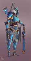 Tzeentch Sorceress Lord