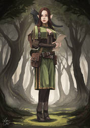 Elf Explorer by CJ-Backman