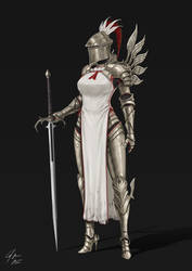 Holy Knight by CJ-Backman