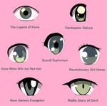 Animated Eye Study 1 by SparkleMongoose