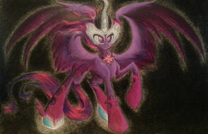 Midnight Sparkle: On the Wings of Darkness by SparkleMongoose