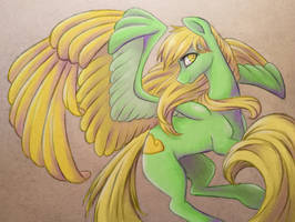Golden Cloud for Anilox by SparkleMongoose