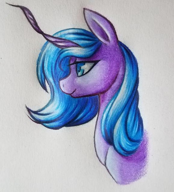 Princess Luna Doodle by SparkleMongoose