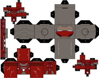 MK 19 - Tiger Cubeecraft by IronManCubeecrafts