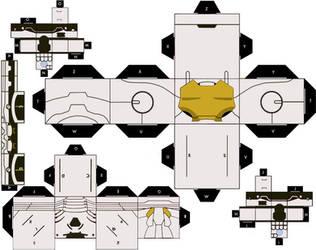 Mark 39 - Starboost Cubeecraft by IronManCubeecrafts