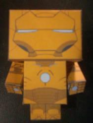 Iron Man Armor MK 21 - Midas Cubeecraft mounted by IronManCubeecrafts