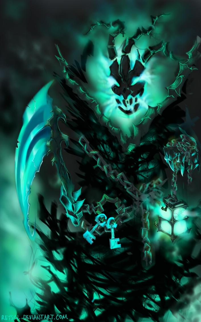 Thresh the Chain Warden by Reysel on DeviantArt