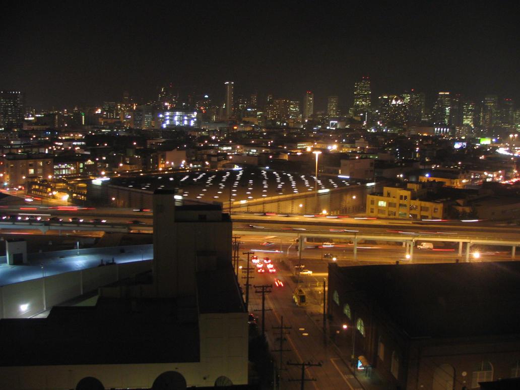 Downtown San Francisco - Night by ztrauq