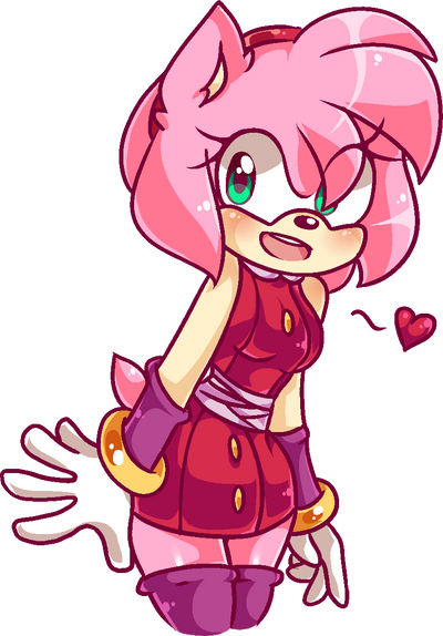 Sonic Boom Amy Pixel by SmoothieCakes on DeviantArt Sonic Boom Amy