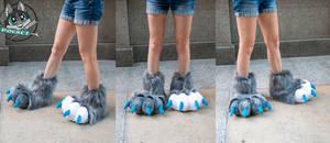 Grey Footpaws