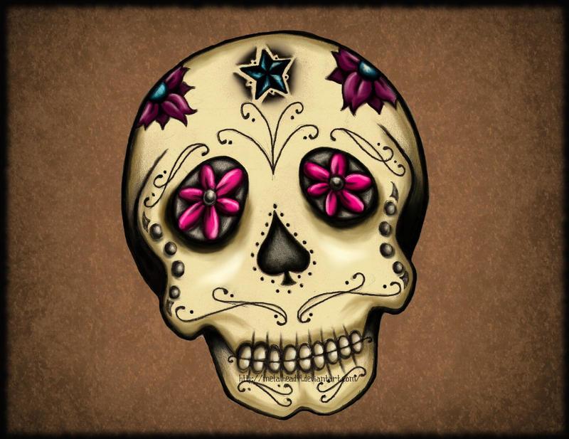 sugar skull by Metalhead99 on DeviantArt