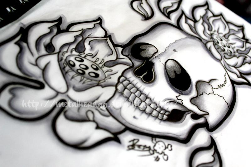 My Tattoo design by Metalhead99
